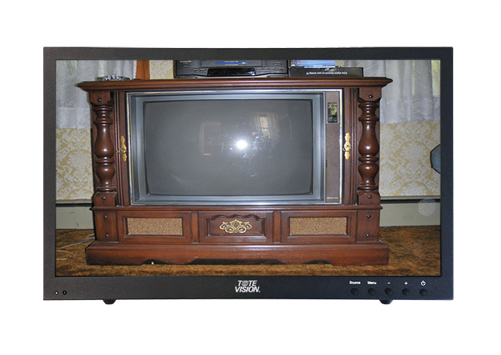 ToteVision Commercial vs Consumer LCD TVs