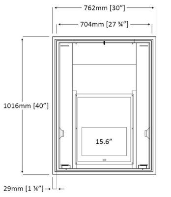 LED-1564MM Dimensions